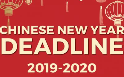 Chinese New Year 2020 Cut Off Date