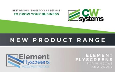 New Products | Element Flyscreens – Pleated Stackable & Flat Retractable