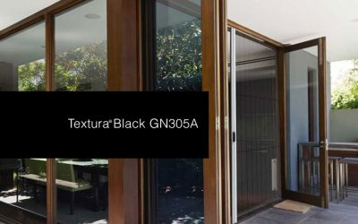 New Black Colour for Pleated Screens – Interpon Textura Black GN305A