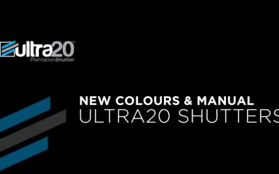 New Ultra20 Colours & Manual