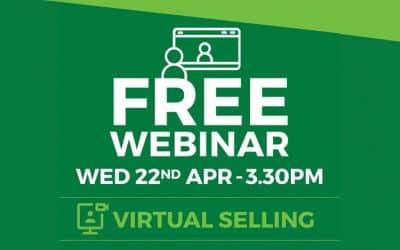 Live! Virtual Selling Webinar: 22 Apr | 3:30PM AEST