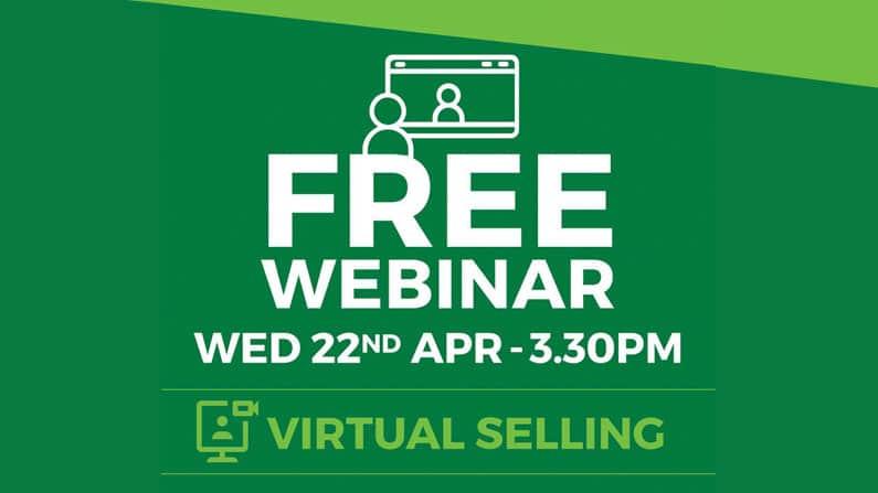Live! Virtual Selling Webinar: 22 Apr   3:30PM AEST