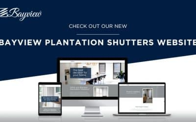 New Bayview Plantation Shutters Website