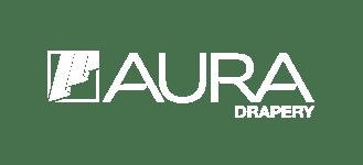 logo auradrapes white