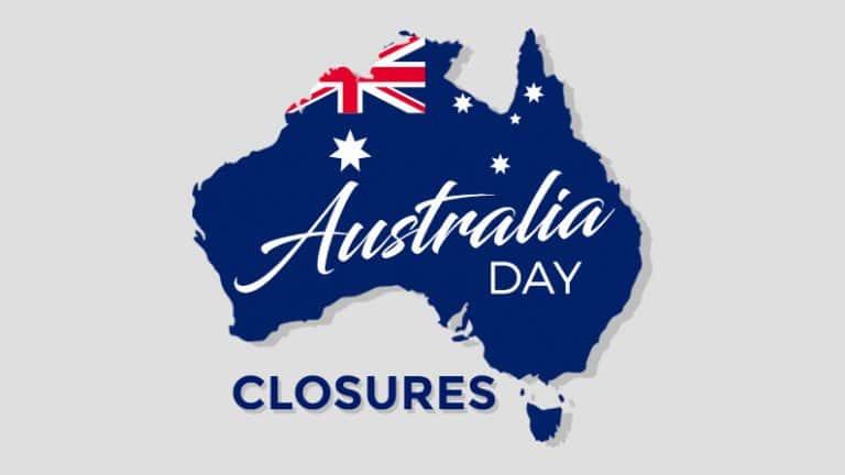 australia day closures featured image